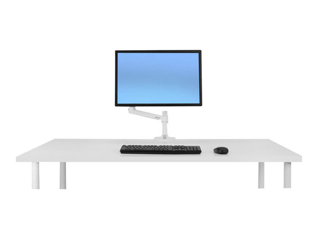 Ergotron : LX DESK MOUNT LCD ARM No GROMMET MOUNT BRIGHT WHITE