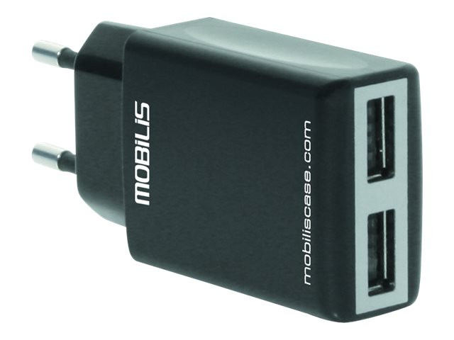Mobilis : AC ADAPTOR 2 USB CHARGER ACCESSORIES
