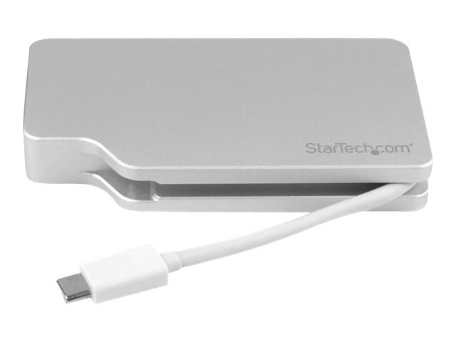 Startech : ADAPTATEUR AUDIO/VIDEO 4 en 1 USB-C VERS VGA DVI HDMI MINI DP