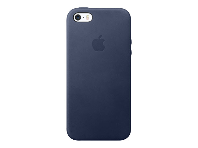 Apple : IPHONE SE LEATHER CASE MIDNIGHT BLUE