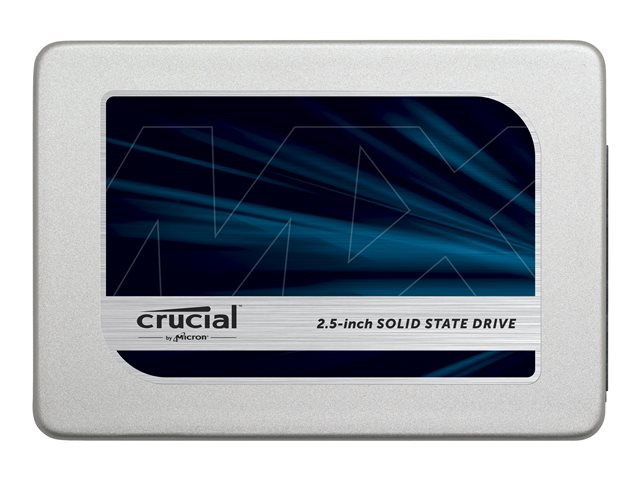 Crucial : MX300 275GB SATA 2.5IN avec 9.5 MM ADAPTEER