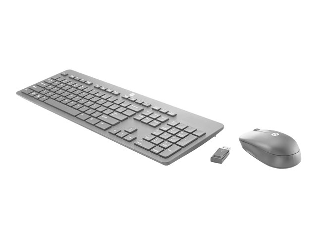 HP : HP SLIM WIRELESS Ko et MOUSE HU