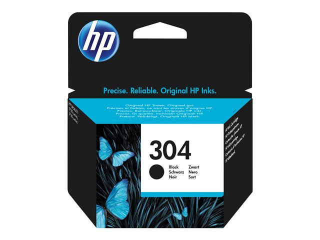 HP : INK Cartouche NO 304 BLACK BLISTER