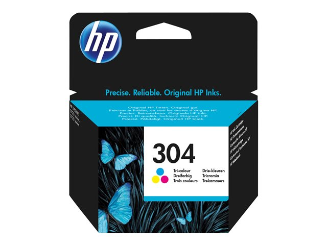 HP : INK Cartouche NO 304 TRI-COLOR BLISTER