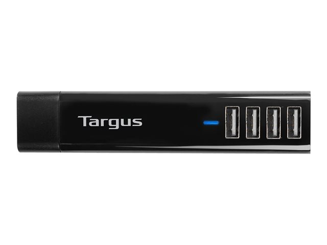 Targus : 4 WAY USB AC PLUGS TABLET CHARGER USB MAINS WALL CHARGER