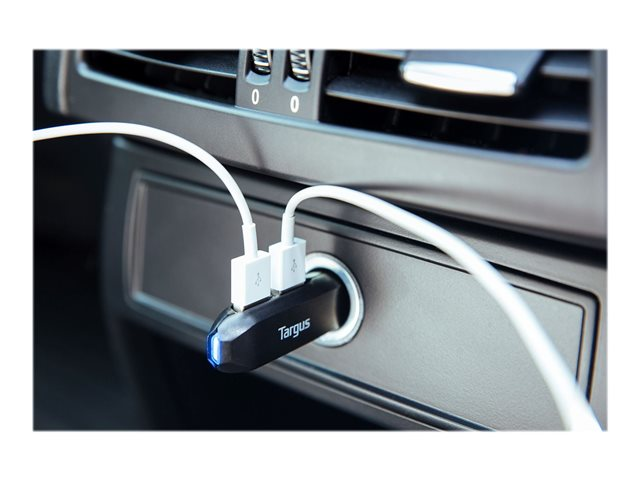 Targus : 4.8A DUAL USB FAST CAR CHARGER FAST HIGH POWER CAR CHARGER
