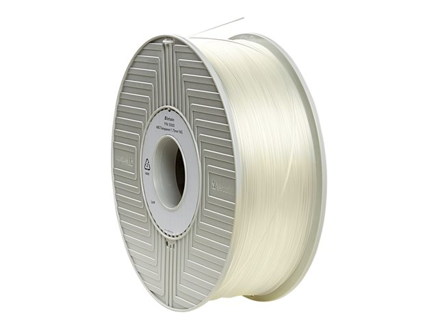 Verbatim : VERB 3D printer FILAMENT PLA 2.85MM 1KG NATURAL TRANSPARENT