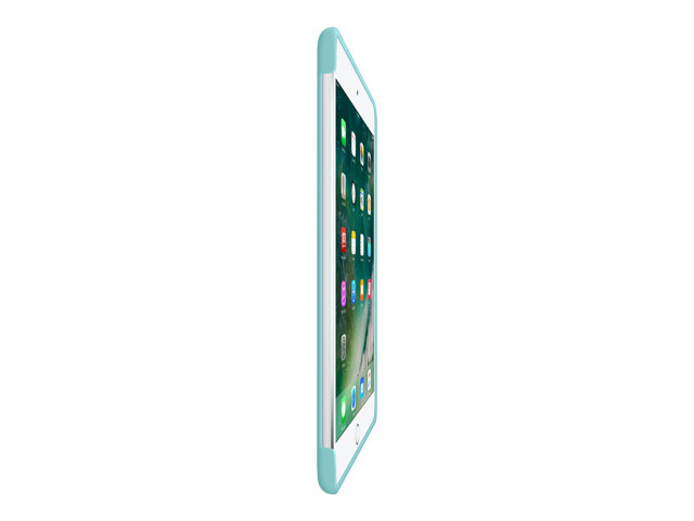 Apple : IPAD MINI 4 SILICONE CASE SEA BLUE