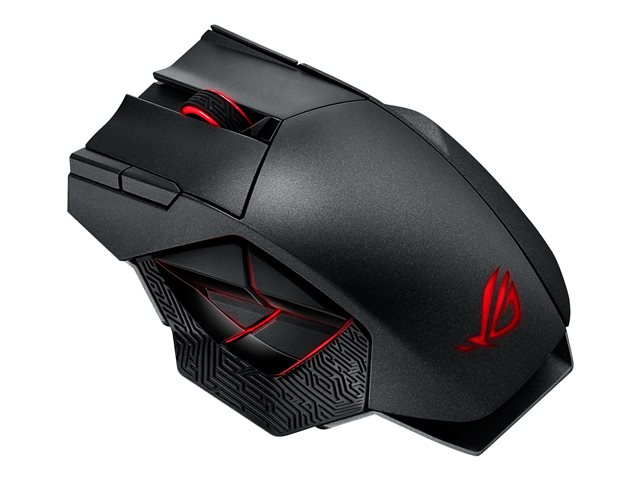 Asustek : ROG SPATHA laser GAMING MOUSE WIRELESS/USB 8200 DPI (pc)