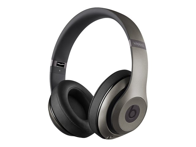 Apple : BEATS STUDIO WIRELESS OVER-EAR HEADPHONES - TITANIUM