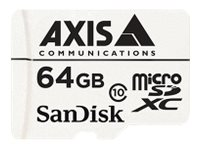 Axis : AXIS COMPANION card 64 GB MICROSDXC