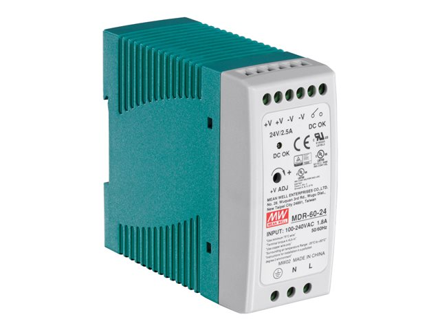 TrendNet : DIN RAIL 24V 60W POWER SUPPLY TI-G50 TI-G62 TI-G80 TI-F11SFP