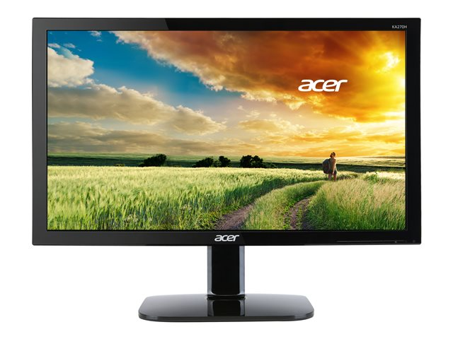 Acer : 27IN LED 4MS 100M:1 ACM 300NITS DVI HDMI ECODISPLAY