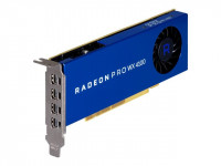 AMD : RADEON PRO WX 4100 4GB PCIE 3.0 16X 4X M-DP LP retail
