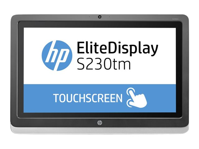 HP : 23IN TCH IPS 1920X1080 16:9 ELITDISPL S230TM 1000:1 DVI-D 7S (8.29kg)
