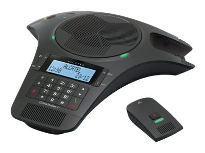 AtLinks : ALCATEL CONFERENCE 1500CE 2 MICROPHNS DETACHABLES DECT BLK