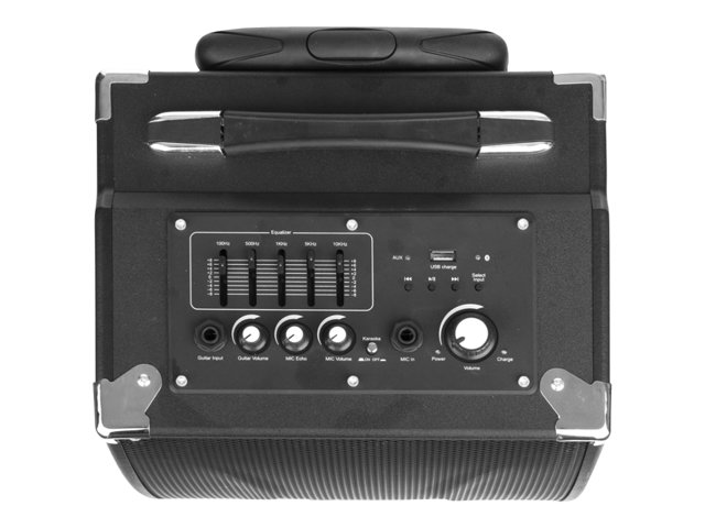 NGS : PORTABL SOUND 40W RMS BLUETOOTH MP3 USB SD MIC INTEGRATED BATT (8.81kg)