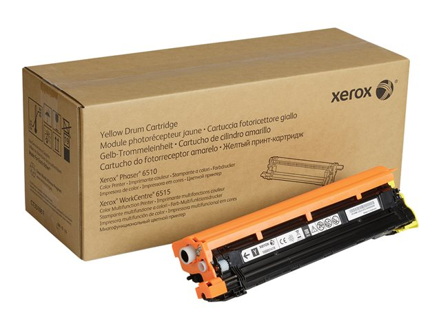 Xerox : YELLOW DRUM cartridge pour WC6515/PHASER6510(48000 PAGE)