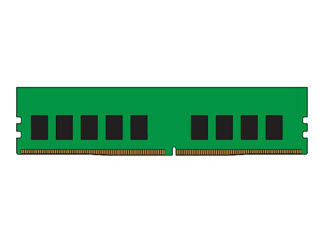 Kingston : 16GB DDR4-2400MHZ ECC CL17 DIMM 2RX8