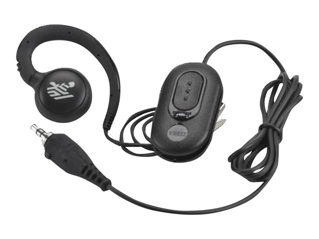Zebra : AUDIO ACCSY HEADSET 3.5MM PTT/VOIP ROT EAR INCL INLINE MIC