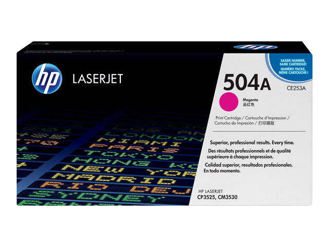 HP : HP COLOR LaserJet CE253A MAGENT PRINT cartridge W COLORSPHERE TO