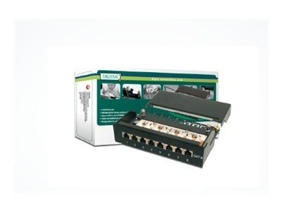 Assmann : DIGITUS DESKTOP CAT 6 PATCH PANEL SHIELDED