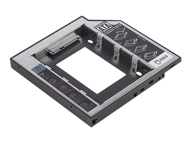 Assmann : DIGITUS SSD/HDD INSTALL FRAME pour CD/DVD/BLU-RAY drive 12.7 MM