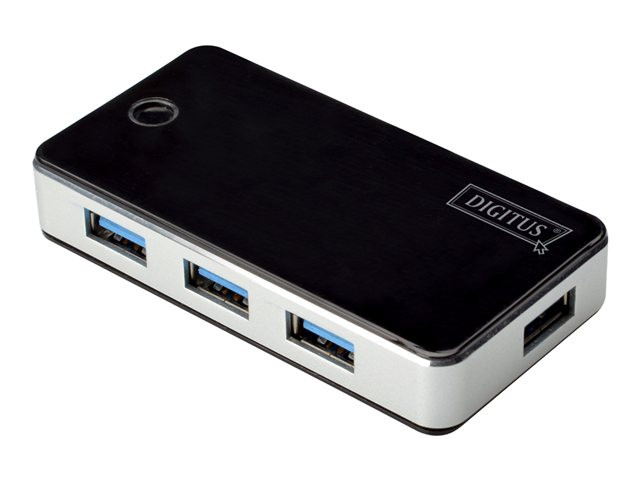 Assmann : DIGITUS USB 3.0 HUB 4 PORT BLACK