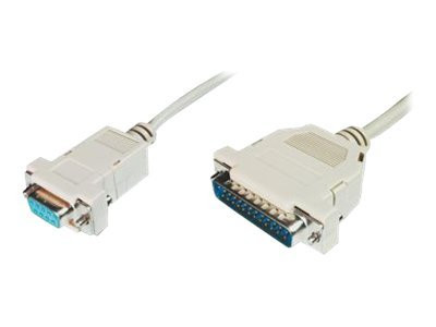 Assmann : PRINTER CONNECTION cable 3M D-SUB25/ST