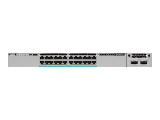 Cisco : CATALYST 3850 24 MGIG PORT UPOE IP SERVICES (11.43kg)