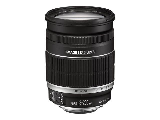Canon : EF-S 18-200MM 1:3.5-5.6 IS .