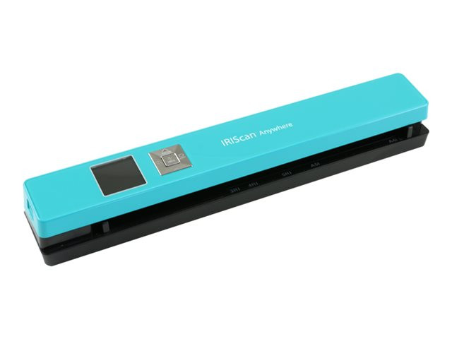 Iris : IRISCAN ANYWHERE 5 TURQUOISE 8PPM-BATTERY LI-ION