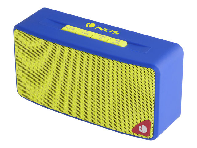 NGS : 3W BLUETOOTH AUX-IN BLUE SD SLOT - FM RADIO