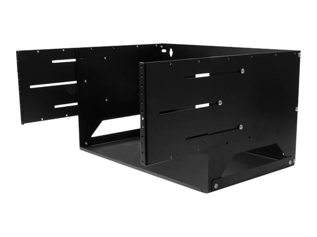 startech rack de serveur mural 4u avec etagere integree. Black Bedroom Furniture Sets. Home Design Ideas