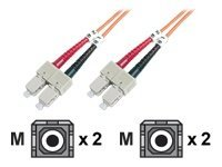 Assmann : FIBER OPTIC MULTIM.PATCH CORD SC/SC 2M