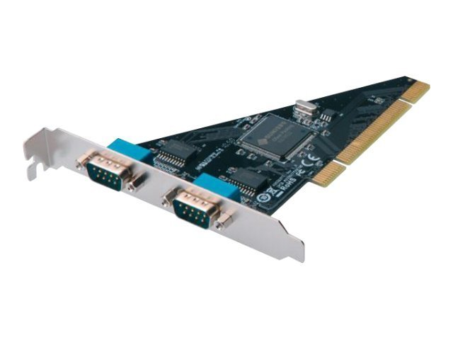 Assmann : SERIAL I/O 2-PORT PCI ADD-ON C 2XDB9 M SLOT BRACKET