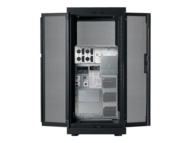 APC : NETSHELTER SX BASE ENCLOSURE 24UX600X1070MM BLACK (65.00kg)