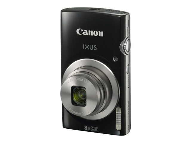 Canon : IXUS 185 BLACK CCD 8X 20MPX 2.7IN