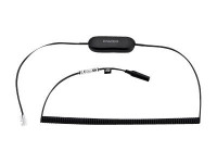 GN NetCom : DESK PHONE cable JABRA EVOLVE RJ9 TO 3.5 MM JACK CONV. CABLE2M
