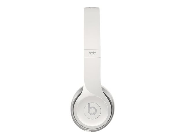 Apple : BEATS SOLO2 ON-EAR HEADPHONES GLOSS WHITE