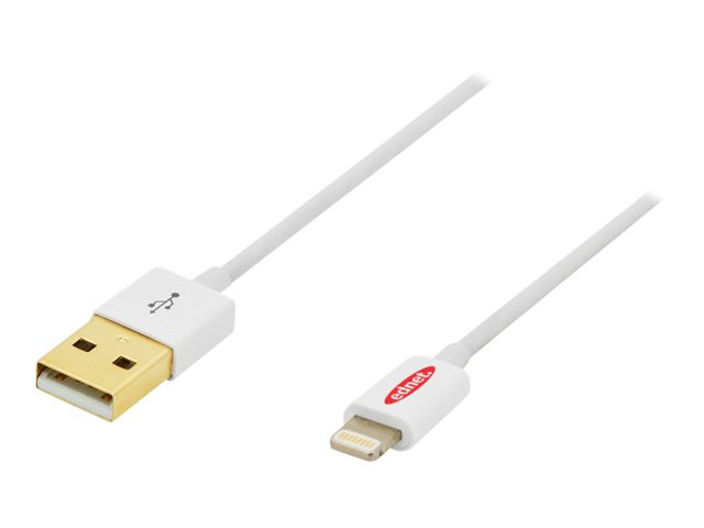 Assmann : APPLE IP5 CHARG/DAT CBL 8P-USBA M/M 1.0M USB 2.0 COMPATIBLE