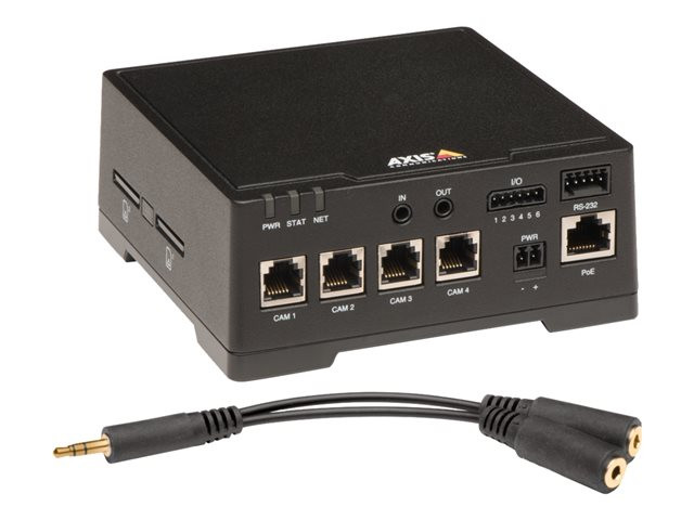 Axis : AXIS F44 DUAL AUDIO INPUT SUPPORTS 1080P 15/12.5 FPS