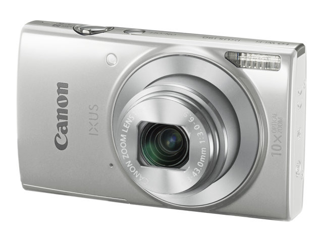 Canon : IXUS 190 SILVER CCD 10X 20MPX 2.7IN