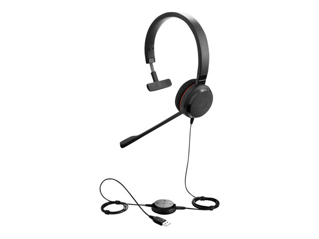 GN NetCom : JABRA EVOLVE 30 II HS MONO 5 MM JACK HS WITHOUT CTRL.