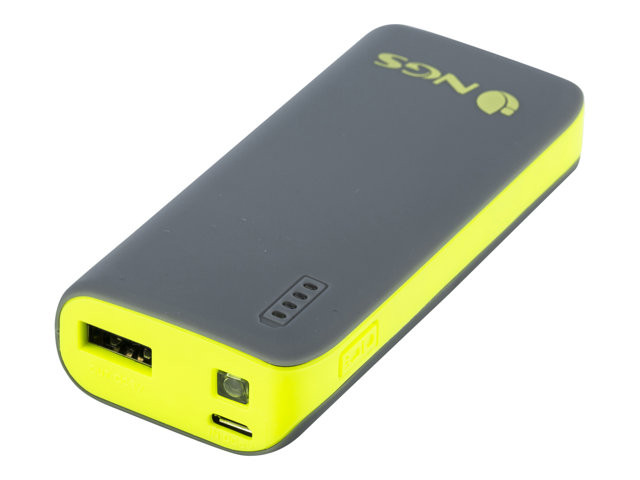 NGS : 4000 MAH POWERBANK W/ 5V1A OUT YELLOW COLOR