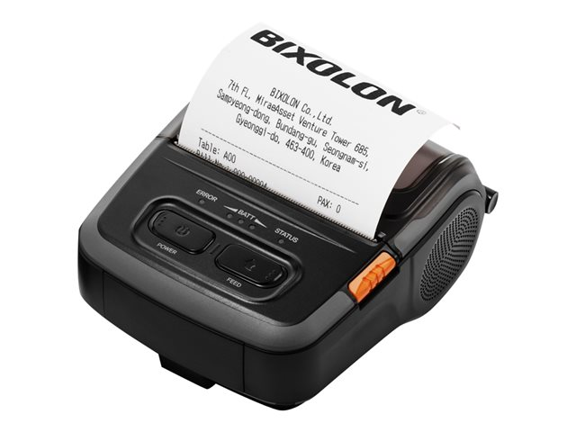 Bixolon : SPP-310 MOB BARCODE printer DT DARK GREY SERIAL USB BT IOS