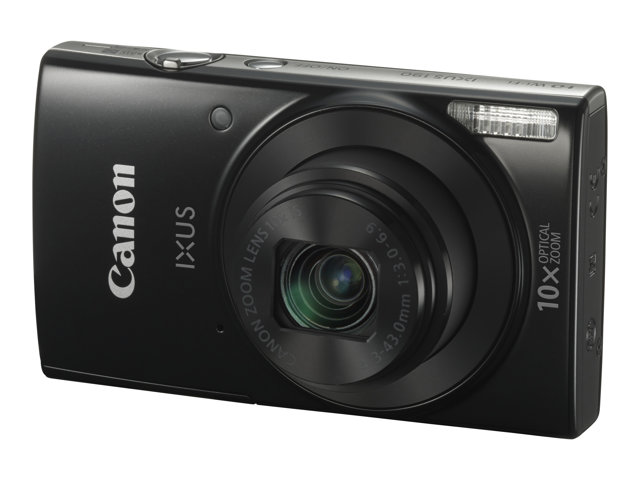 Canon : IXUS 190 BLACK CCD 10X 20MPX 2.7IN