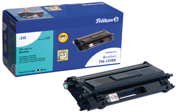 Pelikan Toner 1242 remplace brother TN-230BK, noir