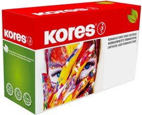 Kores Toner G3345RBB remplace OKI 44973535, cyan