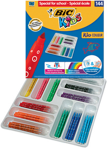 BIC KIDS Feutre Kid Couleur medium, garniture de 144